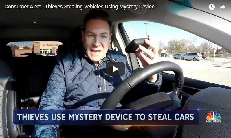 Check out this video showing off the theft-proofing abilities of the Ravelco anti-truck theft device